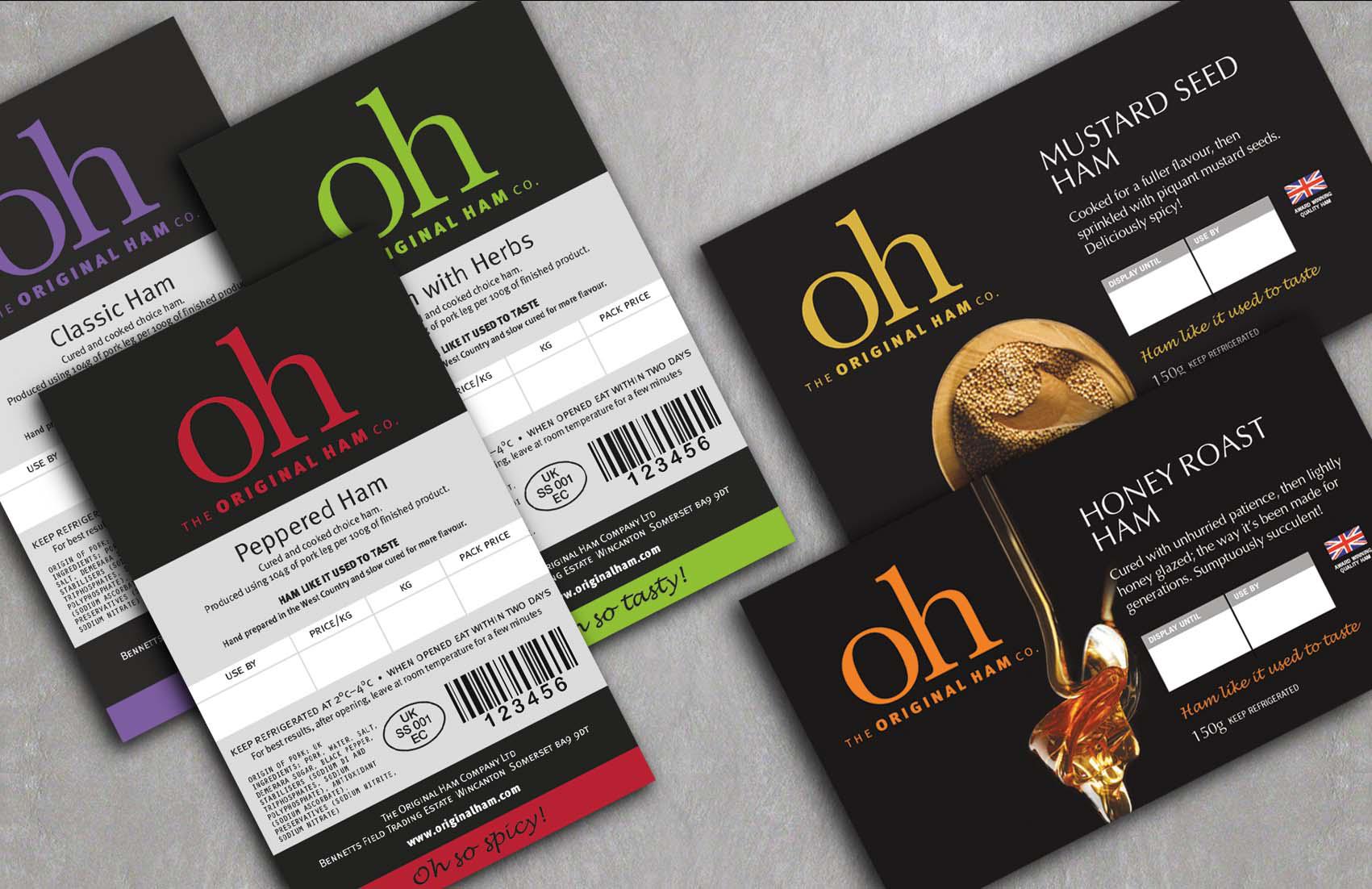 Original Ham labels