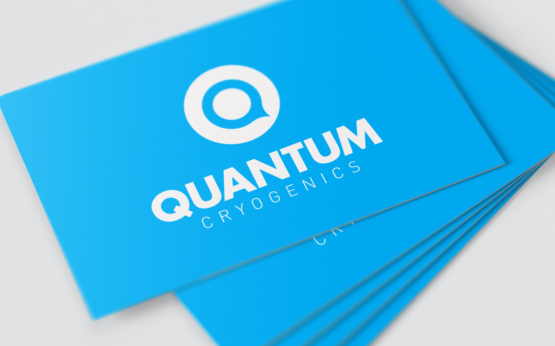 Quantum Cryogenics business cards