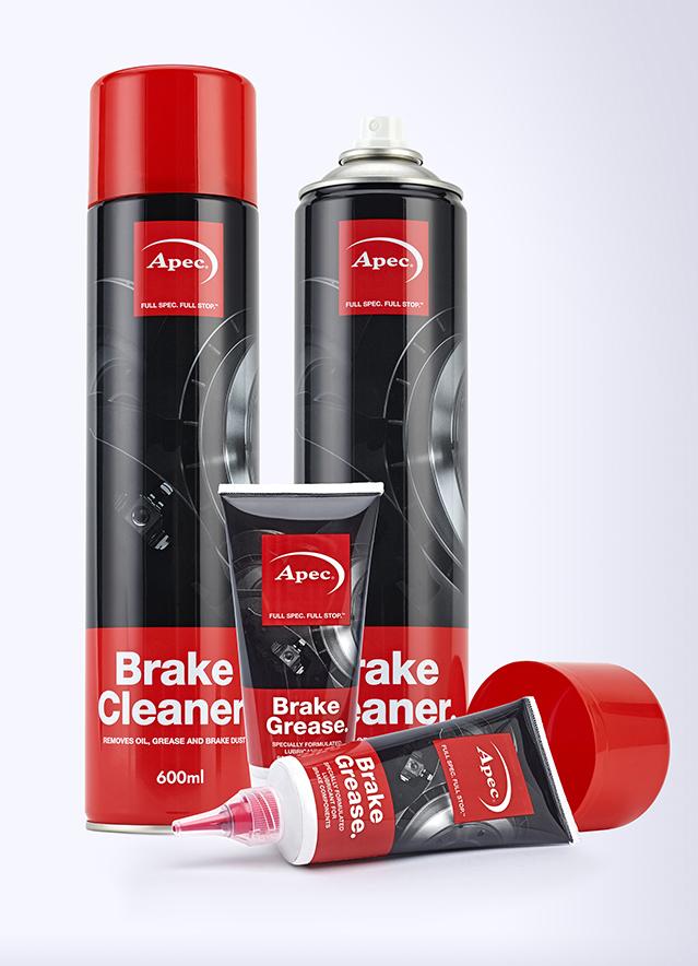 Apec Brake Cleaner can design