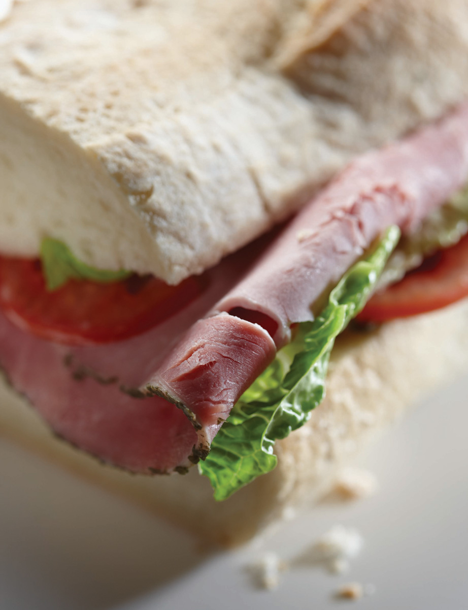 Original Ham food photography