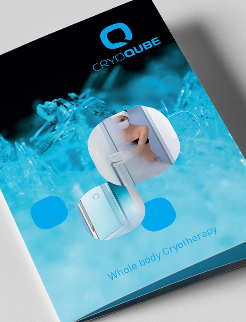 Quantum Cryotherapy brochure design