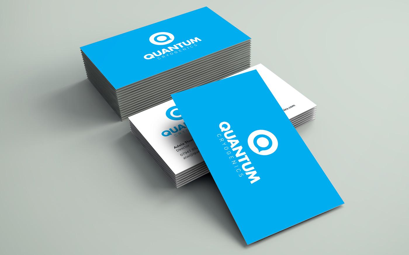 Quantum business card design