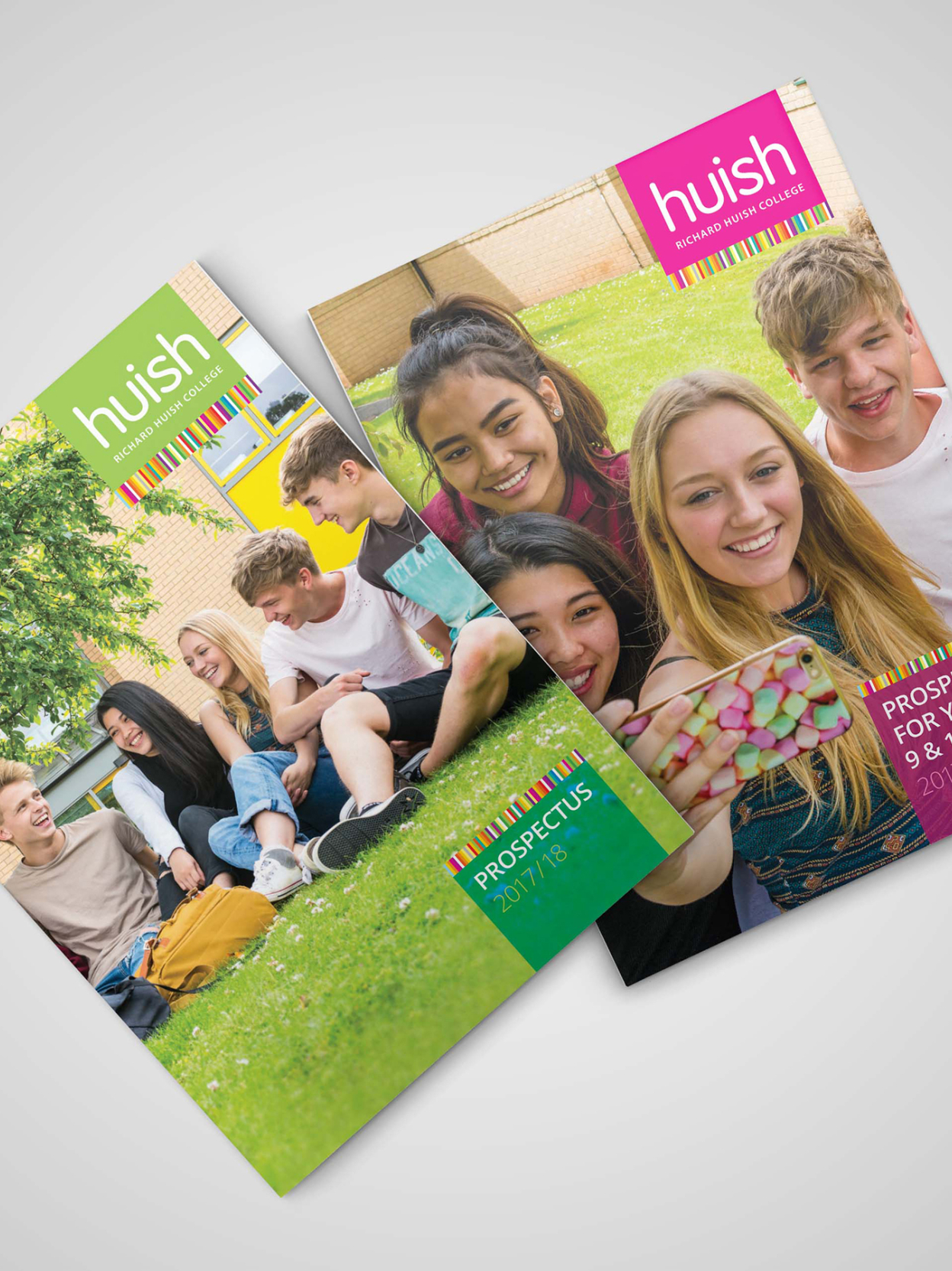 Huish Prospectus Covers in Portfolio page