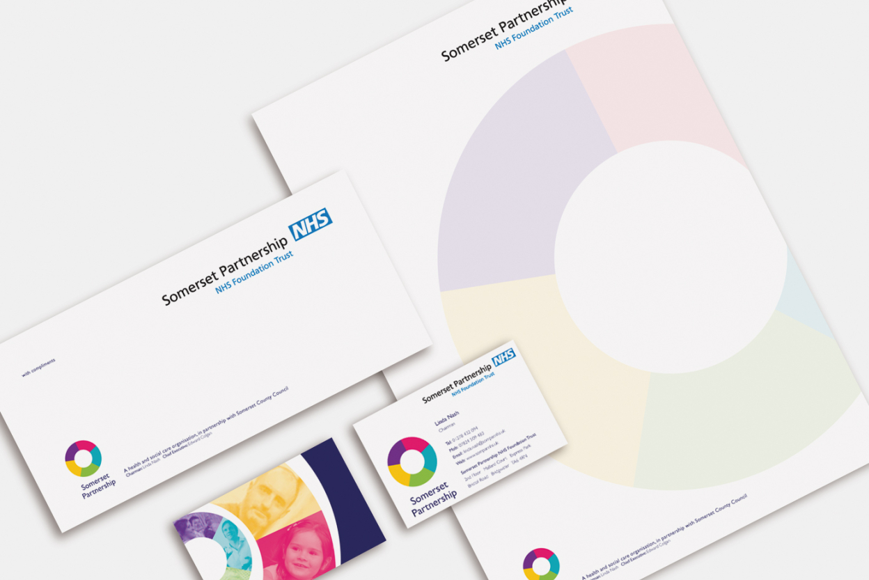Somerset Partnership stationery