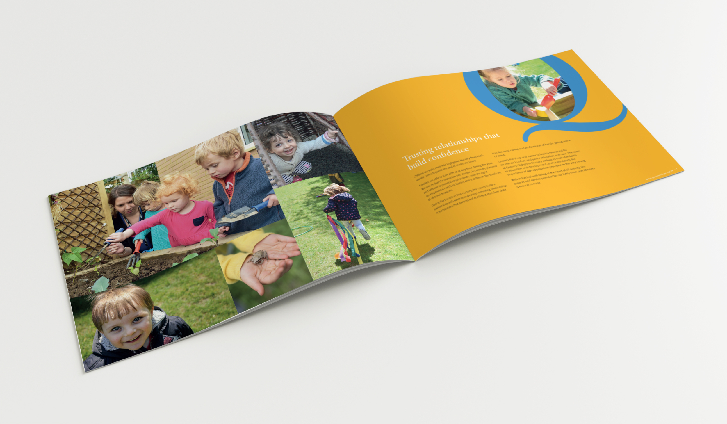 Queens Nursery Prospectus spread1