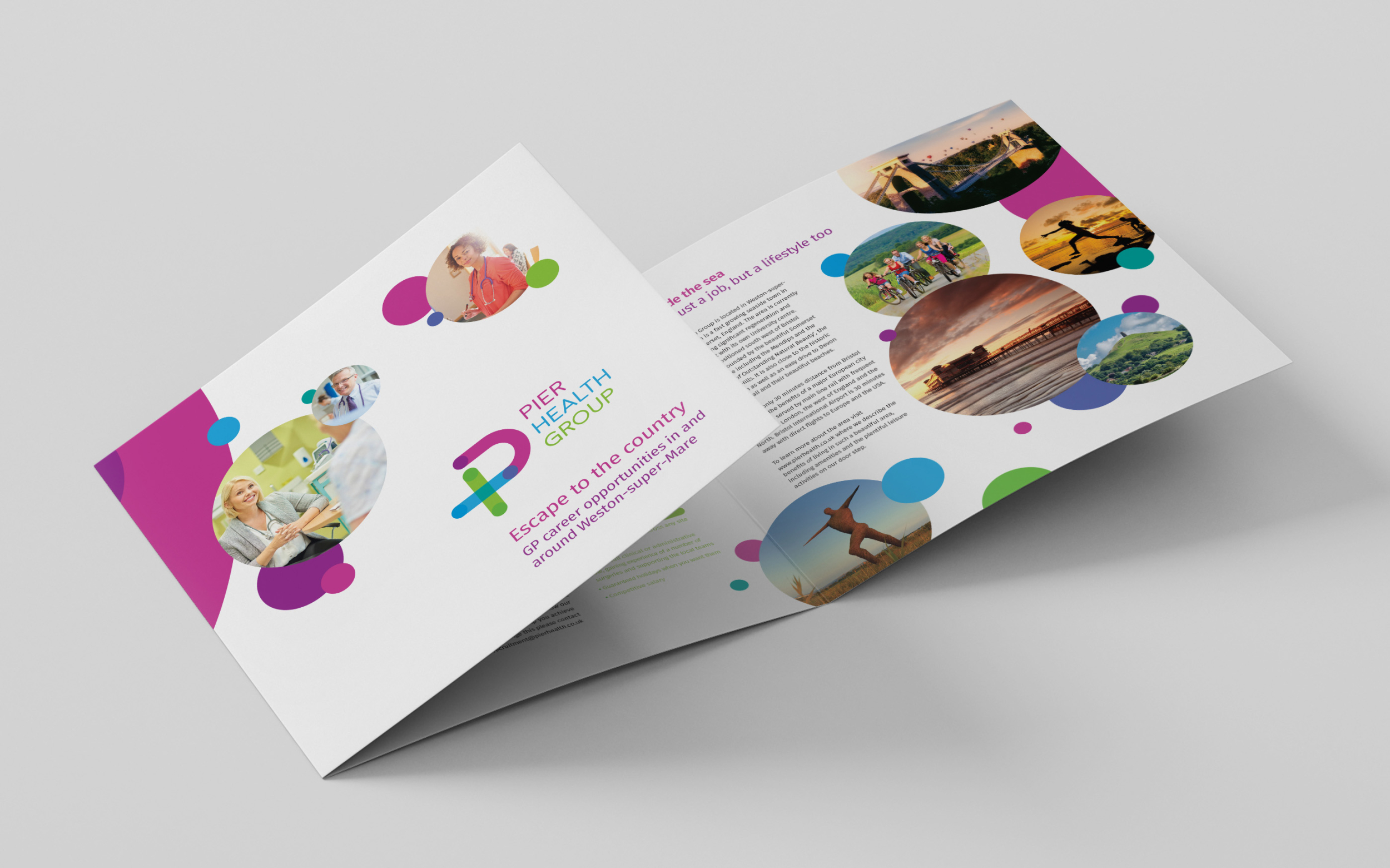 Pier Health recruitment brochure